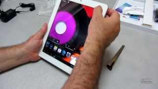 Распаковка планшета Ergo Tab Spark 16 GB White