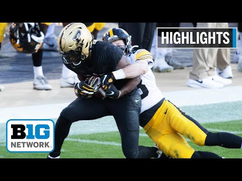 Highlights: David Bell Dominates with 2 Scores in Boilermaker Win | Iowa at Purdue | Oct. 24, 2020