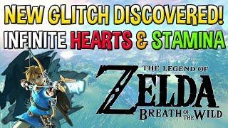New Glitch in Breath of The Wild - Infinite Hearts and Stamina Duplication Glitch