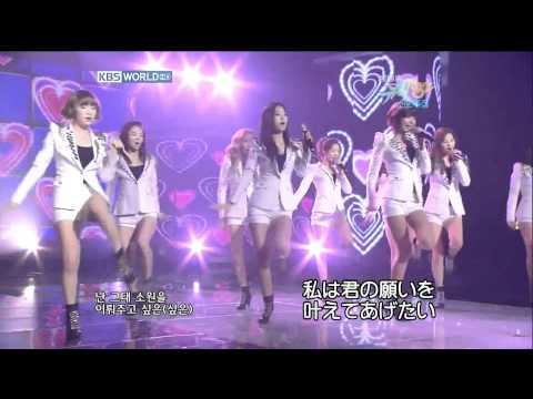 (TV SHOW)SNSDGirls' Generation소녀시대少女時代-소원을 말해봐(Genie)-(日本語字幕)
