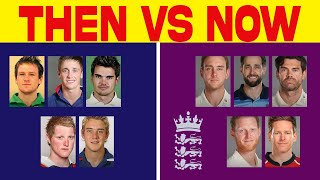 Then Vs Now - England Players | #ECB | #CricTv4u