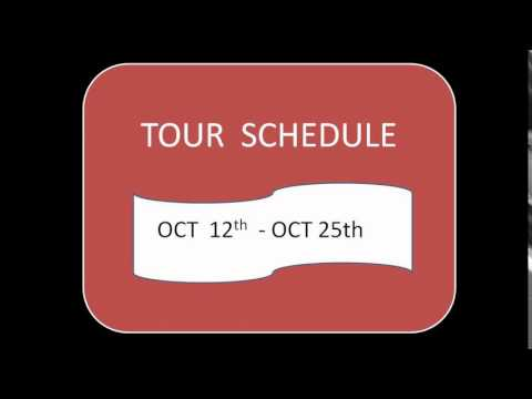 Traveling Tailor Toms Fashion to USA Tour on Oct 12 -25