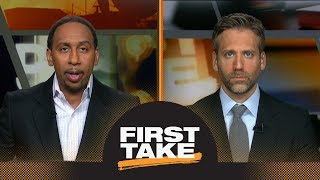 Stephen A. and Max react to Rockets defeating Warriors in Game 4 | First Take | ESPN