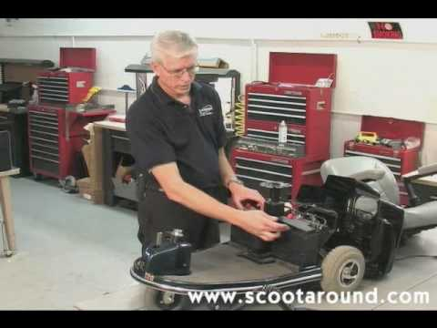 How to Disassemble a Rascal Scooter for Transport