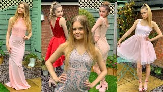 Trying THE CHEAPEST Prom Dresses!