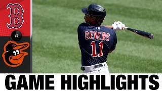 Red Sox vs. Orioles Game Highlights (4/8/21) | MLB Highlights
