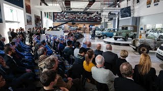 Land Rover 70th Anniversary Broadcast