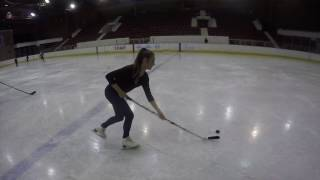Figure skater vs ice hockey player