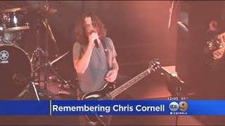 Fans, Entertainers Remember Rocker Chris Cornell