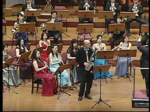 Saxophone solo, Daniel Gremelle à Taïwan