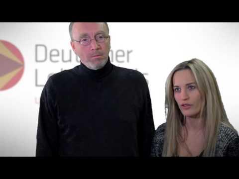 Lehrerpreis 2015: Preisträger Johannes Kruse mit Anabel Schunke