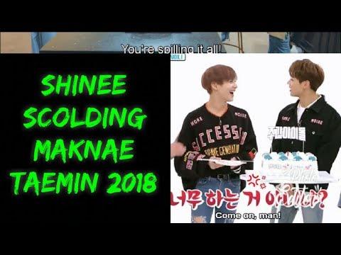 SHINee Scolding Maknae Taemin 2018
