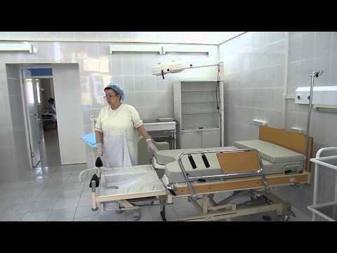 Кровать-трансформер в роддоме №4 / Unique bed in the hospital