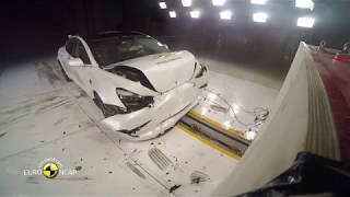 Euro NCAP Crash & Safety Test of Tesla Model 3-2019-Best in Class-Large Family Car/Hybrid & Electric