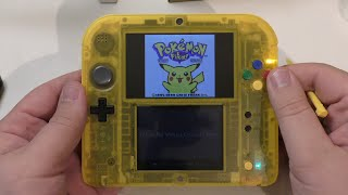 [Unboxing] 2DS Special Pikachu Edition
