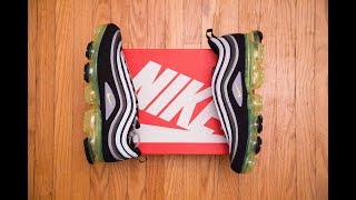 Are HYBRIDS/FUSION the new trend?    Nike Air Vapormax 97 'OG Japan Volt' Review and On Feet