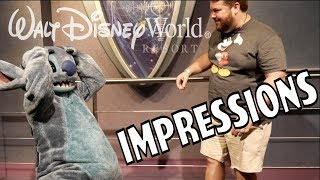 Stitch Couldn't Believe His Ears! - Disney World Impressions