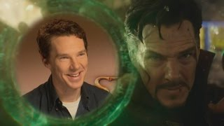 EXCLUSIVE: Benedict Cumberbatch and Benedict Wong on 'Doctor Strange' 'Infinity War' and More!