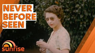 NEVER BEFORE SEEN | Video of The Queen and Prince Philip UNEARTHED after 70 years | Sunrise