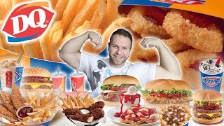 10,000 Calories of Dairy Queen | Cheat Day | Johnny The Food Junkie