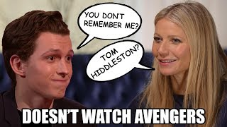 Gwyneth Paltrow(Pepper Potts) Hating MCU and Forgetting Fellow Marvel Actors | Tom Holland