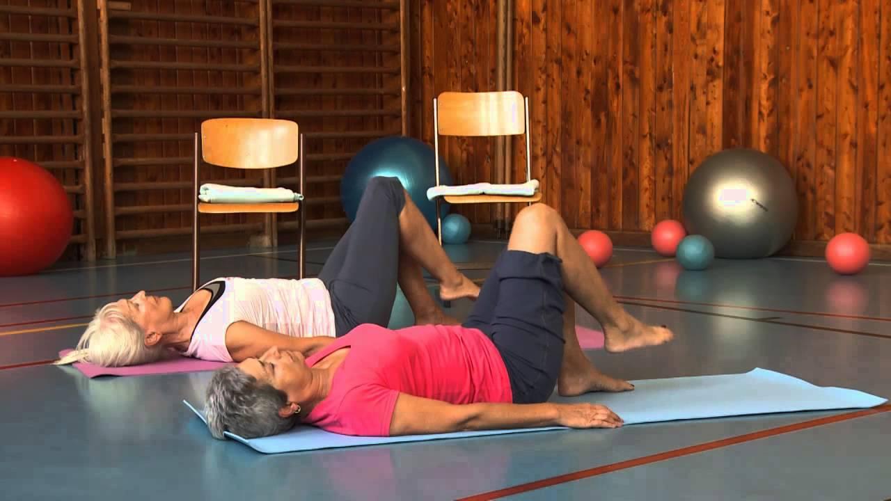 Kyčelní kloub cvičením proti bolesti