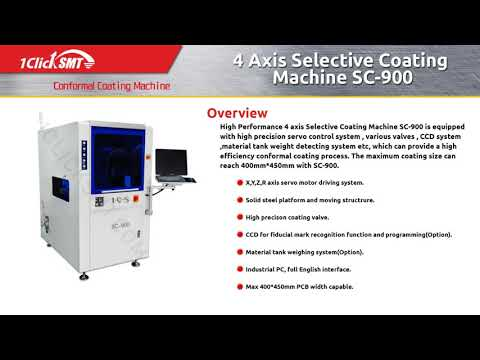 1CLICK SMT - A full range of conformal coating solution