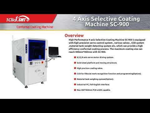 1CLICK SMT - A full range of conformal coating solution