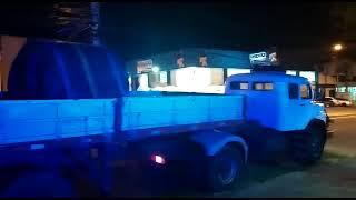 PRF prende dois criminosos e recupera carreta com carga de aço na BR-116, em Barra do Ribeiro
