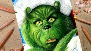 DRAWING THE GRINCH ☃ Advent Day 9 🎄