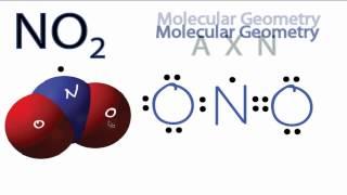 NO2 Molecular Geometry / Shape and Bond Angles