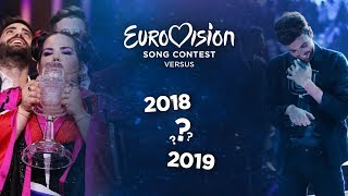 Eurovision Versus: 2018 OR 2019? (Places)