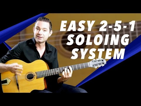Easy 2-5-1 Soloing System That Works!  Gypsy Jazz Guitar Secrets