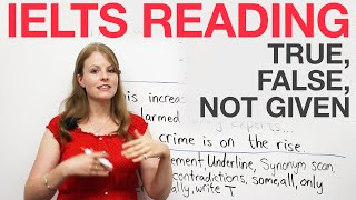 IELTS Reading strategies: True, False, Not Given