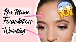 Hint: It's NOT Baking! How to stop your foundation from settling into fine lines