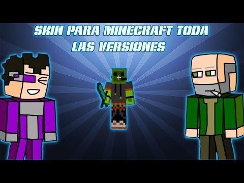 Descargar e instalar skin En minecraft [ todas las versiones ] [ No Premium] 2014