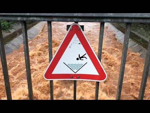 Hochwasser an der Pulheimer-Lache
