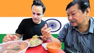Chinese Street Food Tour in INDIA!!! RARE Look at CHINESE INDIAN Street FOOD in Kolkata, India