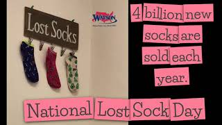 4 billion new socks are sold each year.