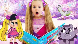 Diana and Roma Learn to Read with Magic Cartoons Compilation