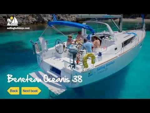 Sailing Holidays - Beneteau Oceanis 38 - Flotilla Sailing