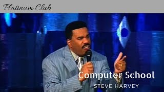"Steve Harvey ""Computer School"" ""Kings of Comedy"""