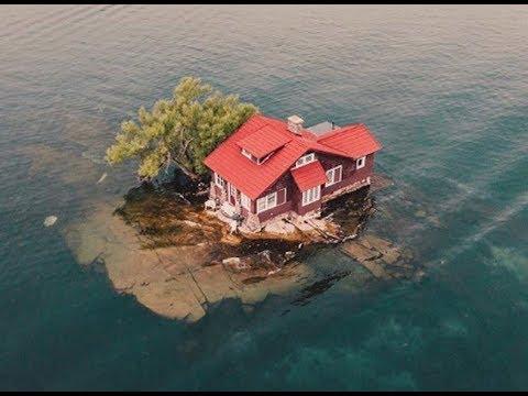 Neuveriteľné miesta na ktorých si ľudia postavili svoj domov
