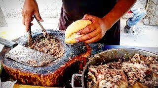 TASTY Street TACOS & TORTAS!! - WARNING!! - Mexican Street Food Is ADDICTIVE  - LARA'S Street Tacos