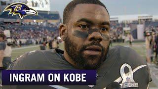 Mark Ingram: Kobe Bryant's Passing Is 'Devastating' | Baltimore Ravens