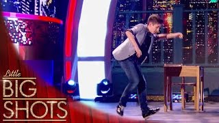 World Champion tap dancer shows off his skills | Little Big Shots