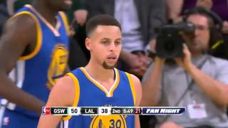 Golden State Warriors vs Los Angeles Lakers   January 5, 2016   NBA 2015-16 Season