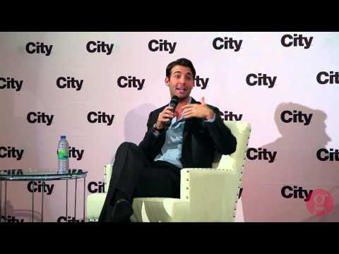 James Wolk talks about 'The Crazy Ones' - YouTube
