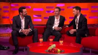 The Graham Norton Show - S15E05 - Hugh Jackman, Michael Fassbender, James McAvoy