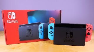 2020 Nintendo Switch Unboxing